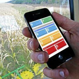 Smartphone en el campo