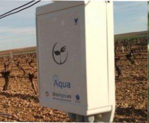 Dispositivo de Seguimiento BrioAgro Aqua Viñedo